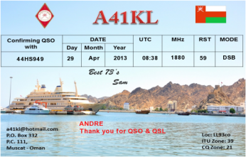 QSL- Received139