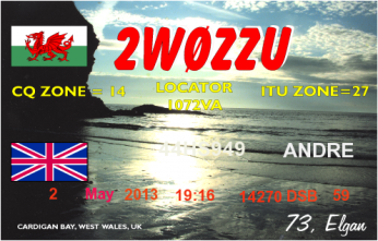 QSL- Received160