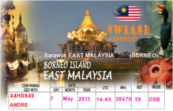 QSL- Received185