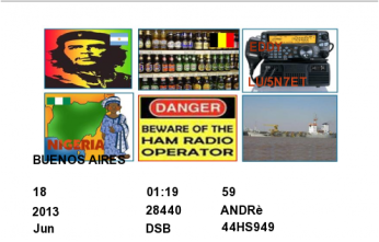 QSL- Received385