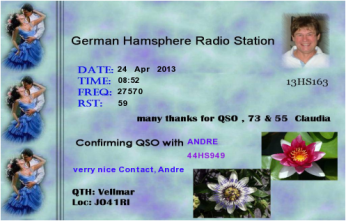 QSL- Received109
