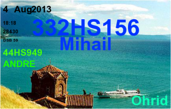 QSL- Received438
